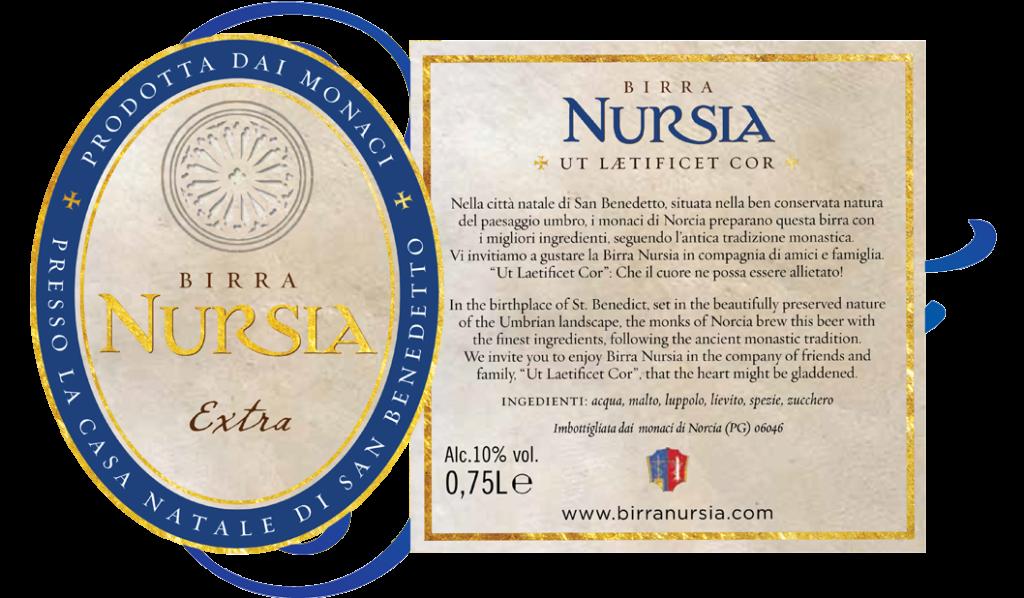 Original Italian Birra Nursia Extra
